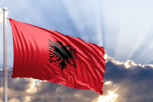 Results for the Albanian flag image pictures